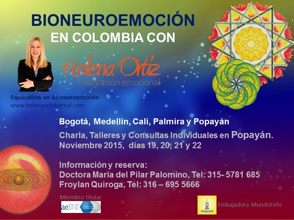 Cartel Popayán BioNeuroEmoción